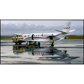 plane jet airplane aeroplane private airport ramp gas truck shell