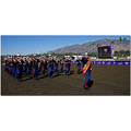 USMC band racetrack SoCal Santa Anita