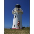 The lighthouse on the easternmost tip of New Zealand, the first to see the sunrise every day! Bea...