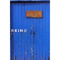 blue door paint colour texture
