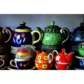 pottery tea pots Lucknow India