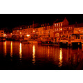 ilfracombe harbour night devon