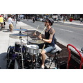 drums drummer street downtown