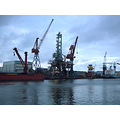 transport cranes water sea harbour schiedam rotterdam holland netherlands