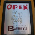 sign oakland shopsignfph restaurant barneys