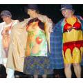 The Topica Ladies' Magic Circle performing at the Devon Jakefest in Torrington.