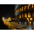 coloseum in rome at 2am
