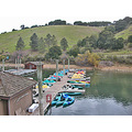 lakechabotfph lake chabot park trail autumn marina boats pier