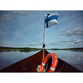 finnishlapland finland lapland flag river suomi jeever jolie landscape