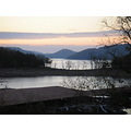 morning sunrise landscape Center Hill Lake Tennessee water boat leisure
