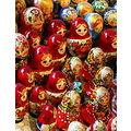 wooden dolls russia colorfull
