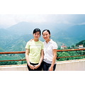 Me and Van Anh. You could recognize her in the previous photo. She worked in Tommy's company. Th...