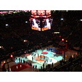 At 6:54pm-War Vets still on the centre court-during presentation of each vet.ACC-Toronto,Ont.,On ...