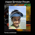 Happy Birthday Poulet!