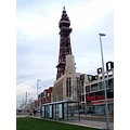 england blackpool architecture lamppost