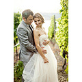 The bodice is accented having a pleated satin band,A sleek and glamorous match is noticed just ab...