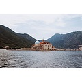 montenegro perast boka sea church island
