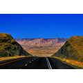 UTAH from Interstate 70 photographing from Greyhound bus window; best viewed at original size.  ...