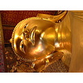 Wat Pho Temple Head area of the Reclining Buddha