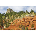 DevilsTower Wyoming mountains landscape