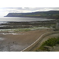 robin hood bay scenary shot
