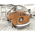 VW Rost Peac Orange Digiart