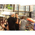 Mario Lopez talk with R.J. Martinize -  Extra Extra TV show 