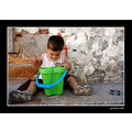 greece lesvos summer people portrait bibikos dimitris baby