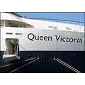 white star line queen victoria cunard ship bow vessel