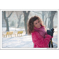girl woman wife beauty snow fog portrait pink nikon sigma bulgaria