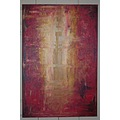 paintings fineart color painting red yellow brown abstract art modernart