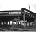 blackwhite bw bridge stlouis kingshighway railroad