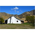 The old cob Acheron Accommodation House ( built 1862 ) on Molesworth Station, Marlborough, NZ.