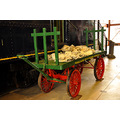 steamtown scranton pennsylvania railroad train mail postoffice car cart