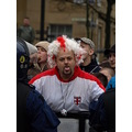 edl rally bolton man wig face