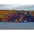 fallcolour fall autumn tugboat barge hudsonriver