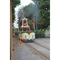 england crich trams vehicles people