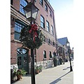 Christmas wreath Distillery District holiday decorations Christmas Market