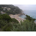 sea mar beach platja playa cala rada arena sand sorra people blanes