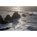 stormy weather hartland quay devon