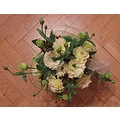 roses white flowers bouquet