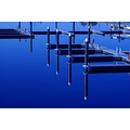 mooring marina sea water reflection blue