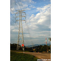 scenery tower high tension