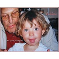childrenfriday grandfather generations girl child children portrait