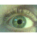 Odd art picture diffent oneil green fun Hamilton ontario Canada 2007 eye