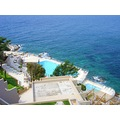 dubrovnik kroatia adriatic blue water sea hotel swimmingpool