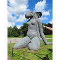 """8. Sculpture by Sophie Ryder - this made me think of """"The Hand"""" in Monty Python trying to take th..."""
