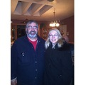 My cousin Chris & his wife Wavvy-at Aunt Helen's-On Thursday,Dec.3,2013