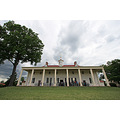 I wasn't tall enough to get the angle corrected!  This is the water front view of Mount Vernon.  ...