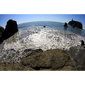fisheye ruby beach